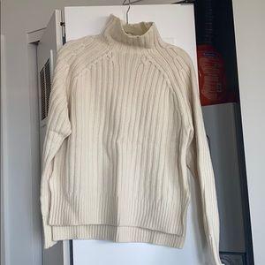 NWT Ralph Lauren Cream Wool Sweater